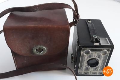 Cámara de fotos de la década de los 40