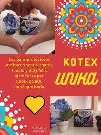 Siempre fresca gracias a KOTEX UNIKA #HablemosDeSaludVaginal