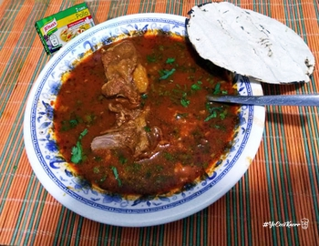 Birria mexicana #YoCociKnorr