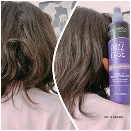 FRIZZ EASE Daily Nourishment humecta #AntesYDespuesLineaFrizzEase
