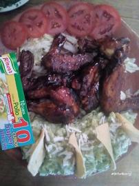 Alitas enchiladas #YoCociKnorr