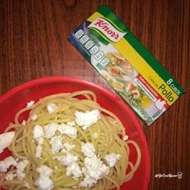 Pasta a la mantequilla #YoCociKnorr