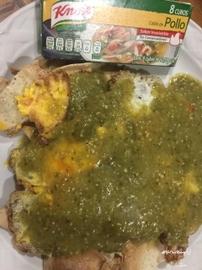 Huevos albañil #YoCociKnorr