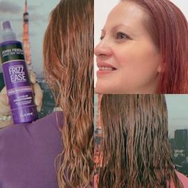 Mi cabello es más suave y esta hidratado con John Frieda #AntesYDespuesLineaFrizzEase