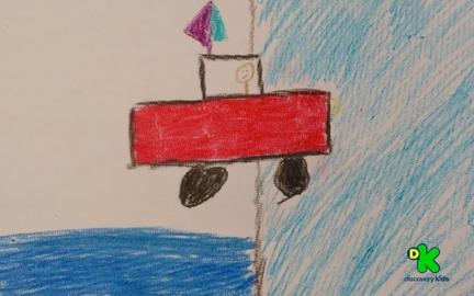coche del mar #CortosdeKids