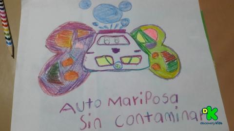Auto Mariposa Sin Contaminar #CortosdeKids