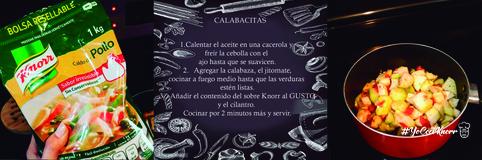 Calabacitas #YoCociKnorr