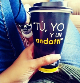EL CAFÉ ES NEGRO COMO EL DEMONIO, CALIENTE COMO EL INFIERNO, PURO COMO UN ÁNGEL Y DULCE COMO EL AMOR..  #MásQueUnCafé