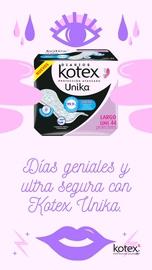 Feliz con Kotex #HablemosDeSaludVaginal