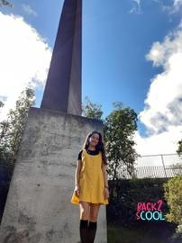 Vestido amarillo pollito :3 #BACK2SCOOL