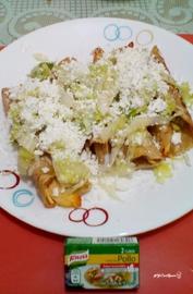 """""""Tacos dorados de pollo"""" #YoCociKnorr"""