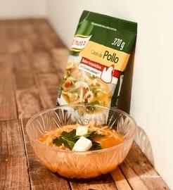 Disfruta de una sopa de fideos cacera #YoCociKnorr