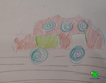 mi auto #CortosdeKids