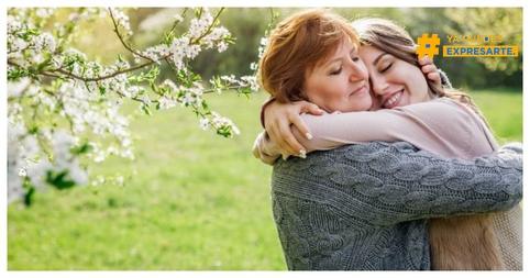 Abrazar a mi mamá libremente #expresate