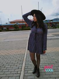 Sombrero con vestido #BACK2SCOOL