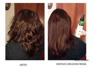 John Frieda me ayuda a tener un cabello increíble #AntesYDespuesLineaFrizzEase
