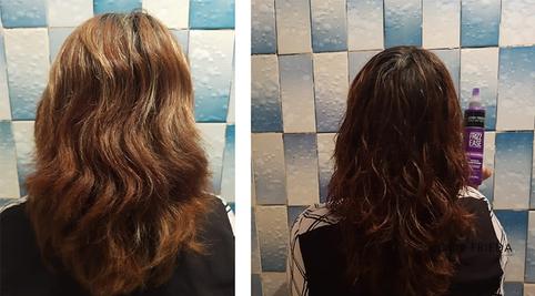 Mi cabello luce muy bonito y con más brillo #AntesYDespuesLineaFrizzEase