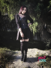 Mi estilo/ Goth :) #BACK2SCOOL