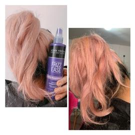 Mi cabello esta suave gracias a John Frieda #AntesYDespuesLineaFrizzEase