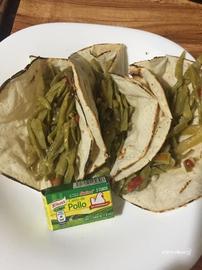 Tacos de nopales a la mexicana #YoCociKnorr