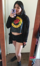 Outfit Goth #BACK2SCOOL