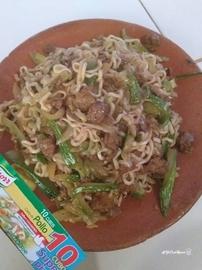 Espagueti con cerdo y calabacitas #YoCociKnorr