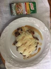 Pechuga tres quesos #YoCociKnorr