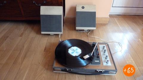 Tocadiscos estéreo Cosmo de 1969