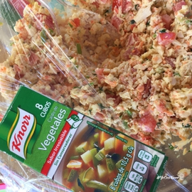 Ceviche vegetariano #YoCociKnorr