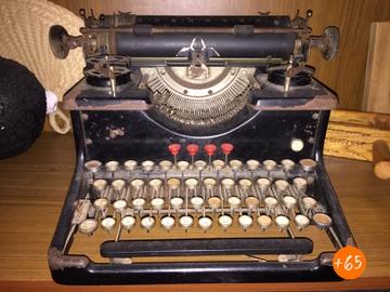 Máquina de escribir de 1958
