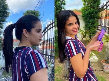 Mi antes y después de la cuarentena #QuieroGanarJohnFrieda