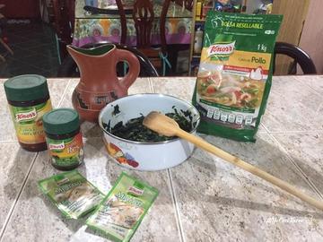 Espinacas Knorr #YoCociKnorr