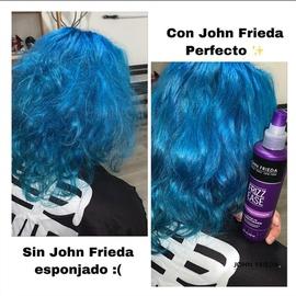 Con John Frieda mi cabello luce increíble #AntesYDespuesLineaFrizzEase