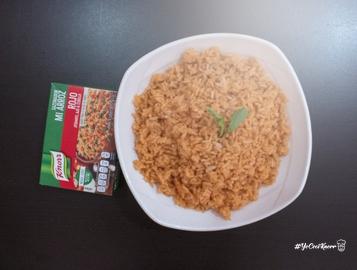 Delicioso arroz rojo preparado con Knorr #YoCociKnorr